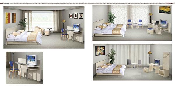 酒店家具-床
