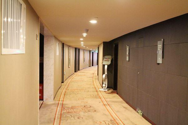 客房樓層走廊