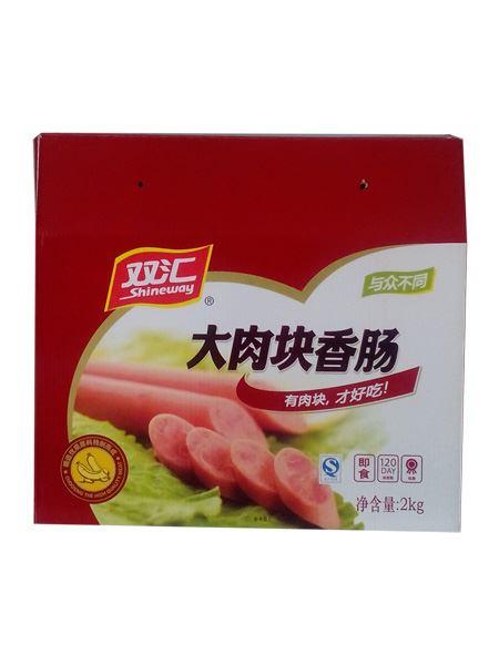 双汇-大肉块香肠