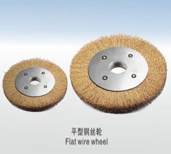鋼絲除銹輪-平型鋼絲輪