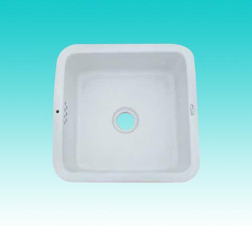 华夏卫陶—洗涤槽 1号方槽 470x470x180(mm)