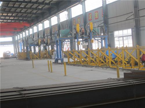 鋼結構生產車間