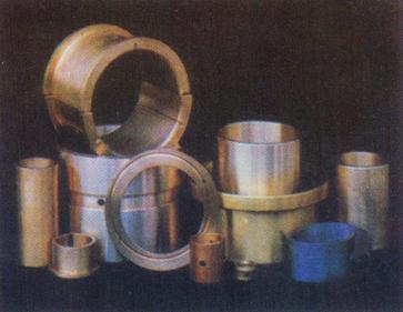 各種通用機械、工程機械軸瓦、軸套