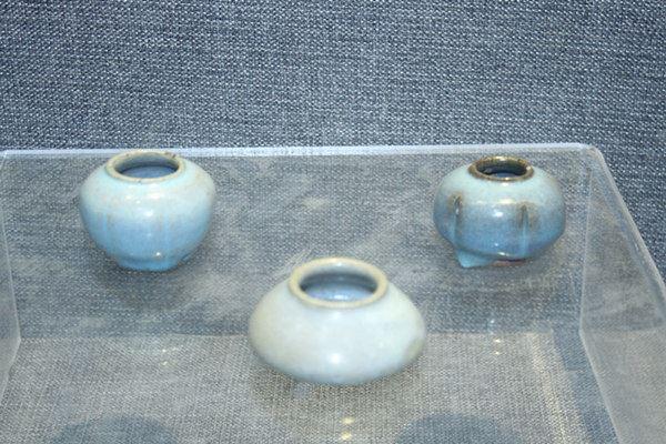 钧瓷水盂(宋代公元960年~1279年)