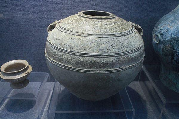 东汉青瓷罐(公元前25年~220年)