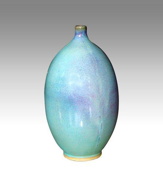 钧瓷之柳叶瓶系列