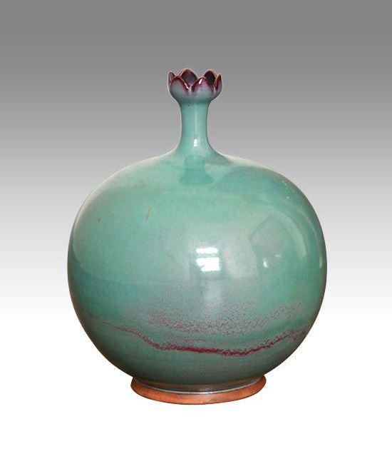 钧瓷之石榴瓶系列