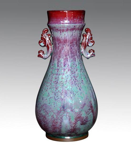凤耳琵琶瓶
