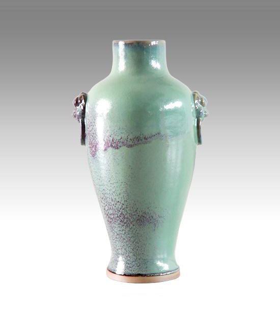钧瓷之益寿瓶系列