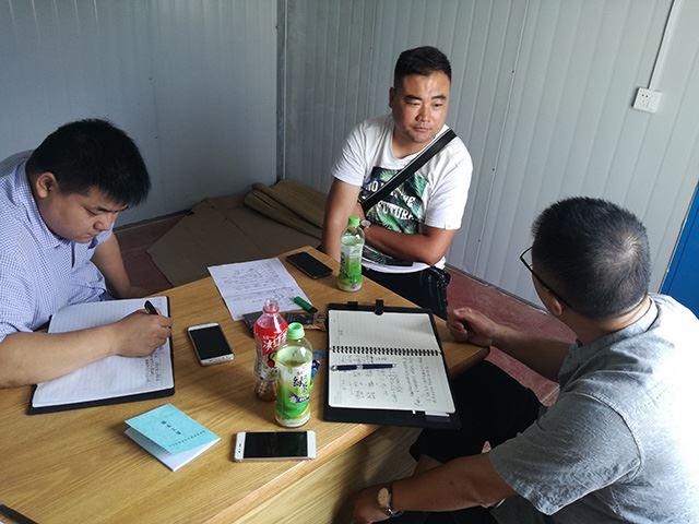 2017年8月禹州金科再生资源项目调研