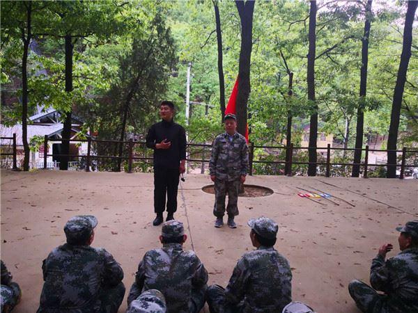 2019年3月,某魏都区办事处第一批拓展训练