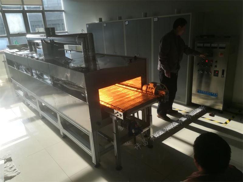 紅外輻射烘干爐