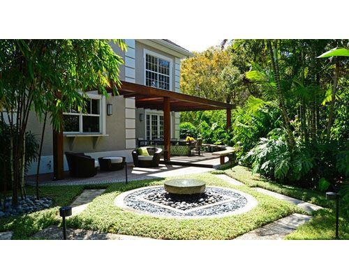 河南園林綠化庭院景觀工程圖片