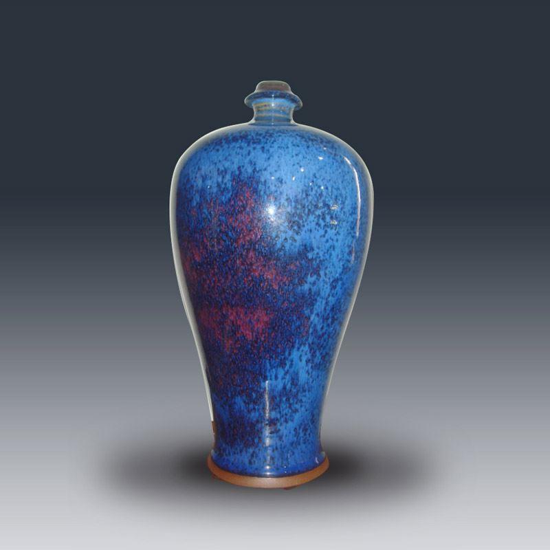 手拉坯梅瓶