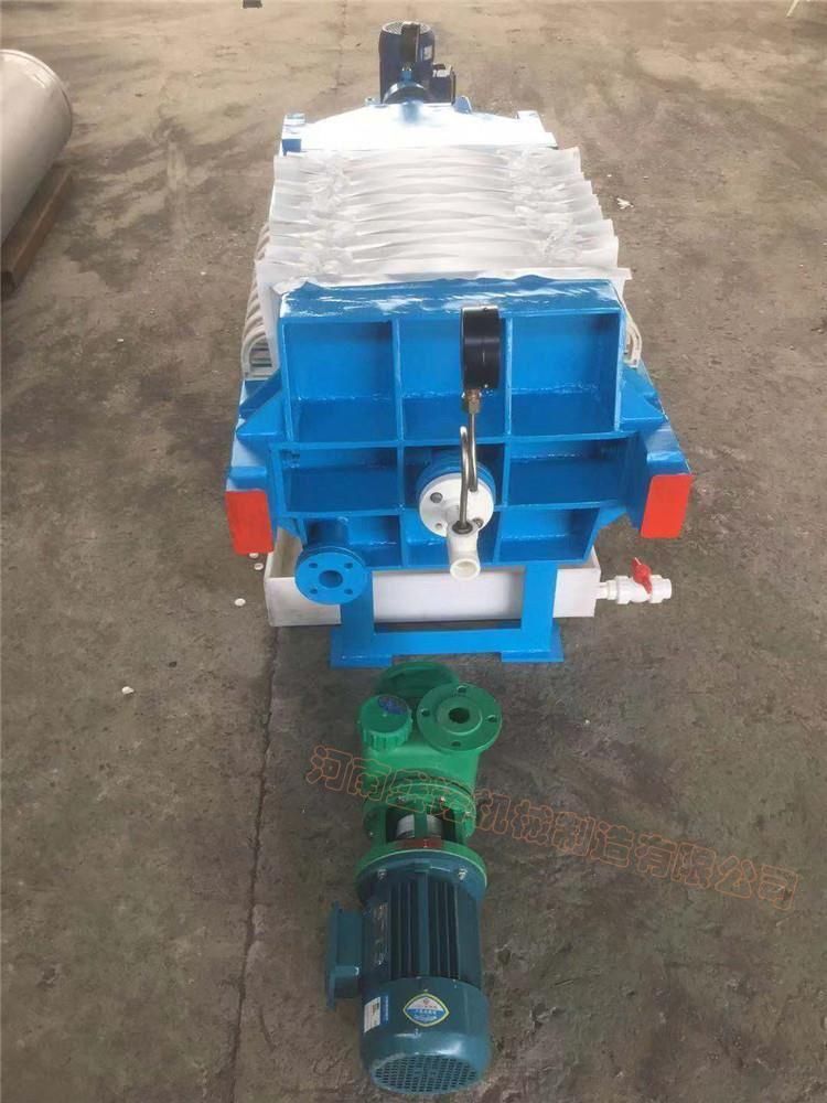 450型4平方压滤机