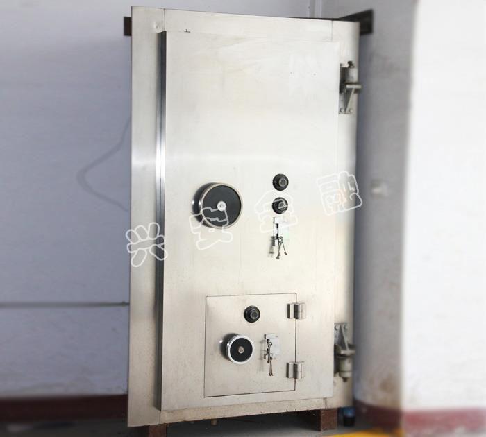 C级金库门带备门不锈钢