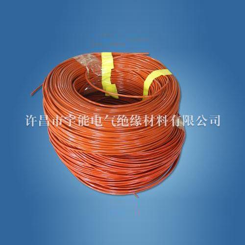 Silicone fiberglass tube