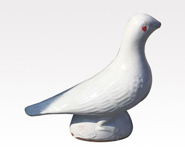 琉璃瓦卧鸽