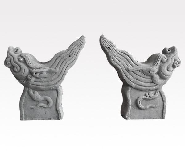 兽头-高涛瓷业青灰瓦系列