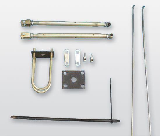 工程电动车焊合件