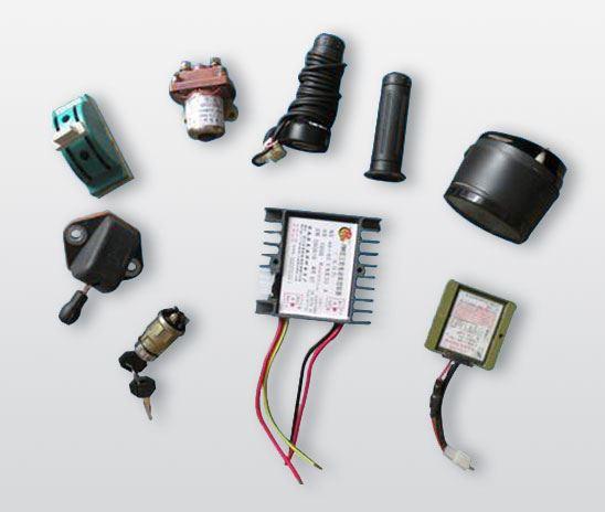 工程电动车电器小件