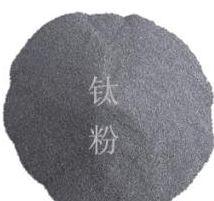 Plating titanium powder