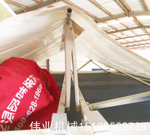 自卸车平推式伸缩篷布系统