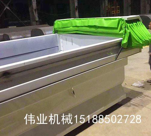自卸車圓鋼軌道鋼絲繩傳動伸縮篷布廠家